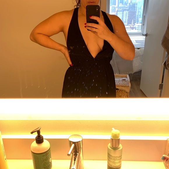 ASOS Dresses & Skirts - Plunge little black dress